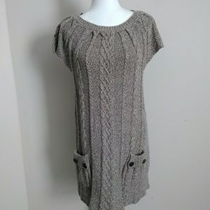 Style& co short sleeve sweater dress